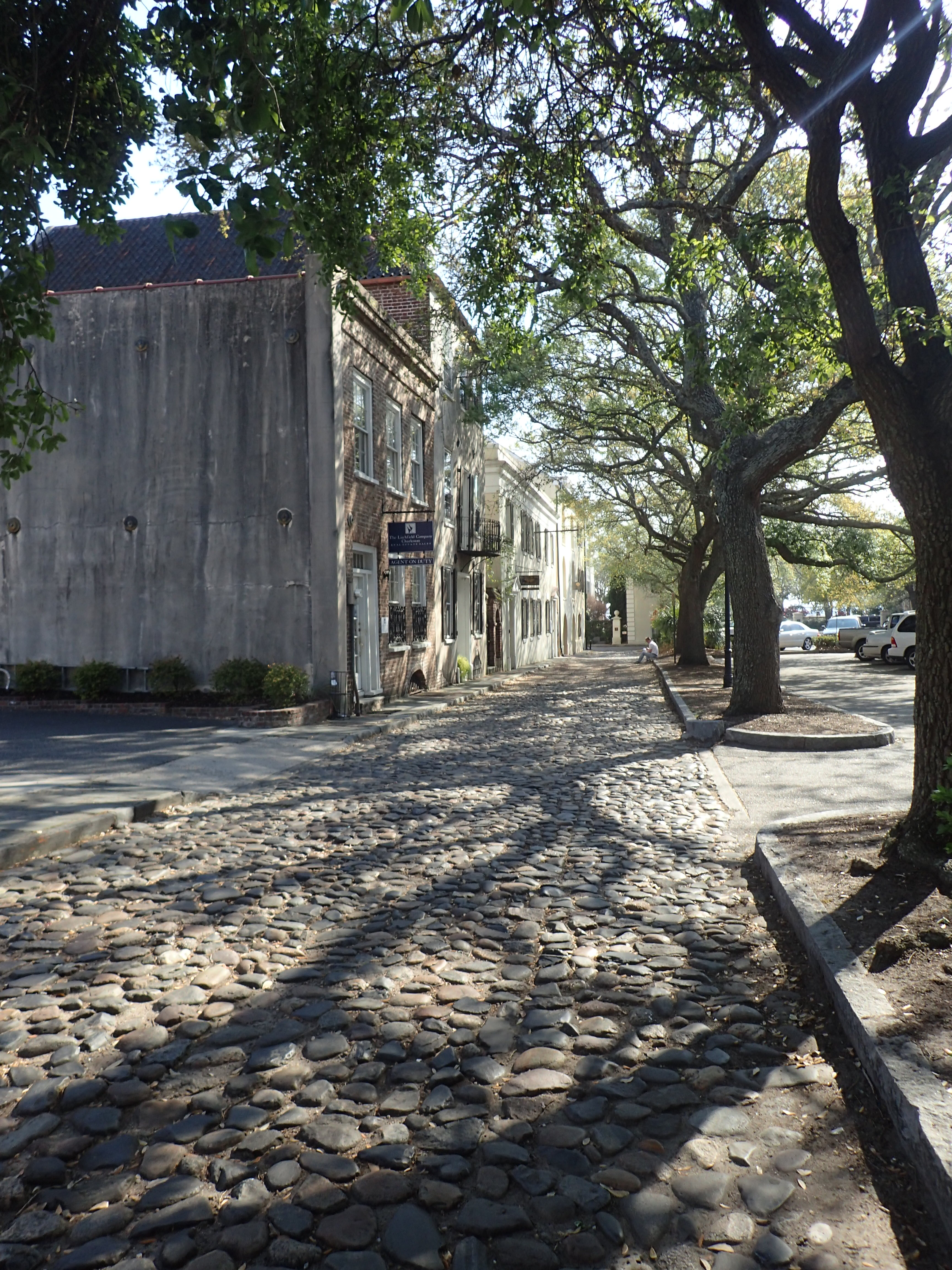 Cobblestone Streets Charleston SC Morning Light ShinewithJL