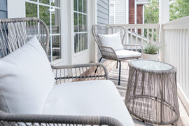 How To Decorate A Small Balcony: Minimalist Style