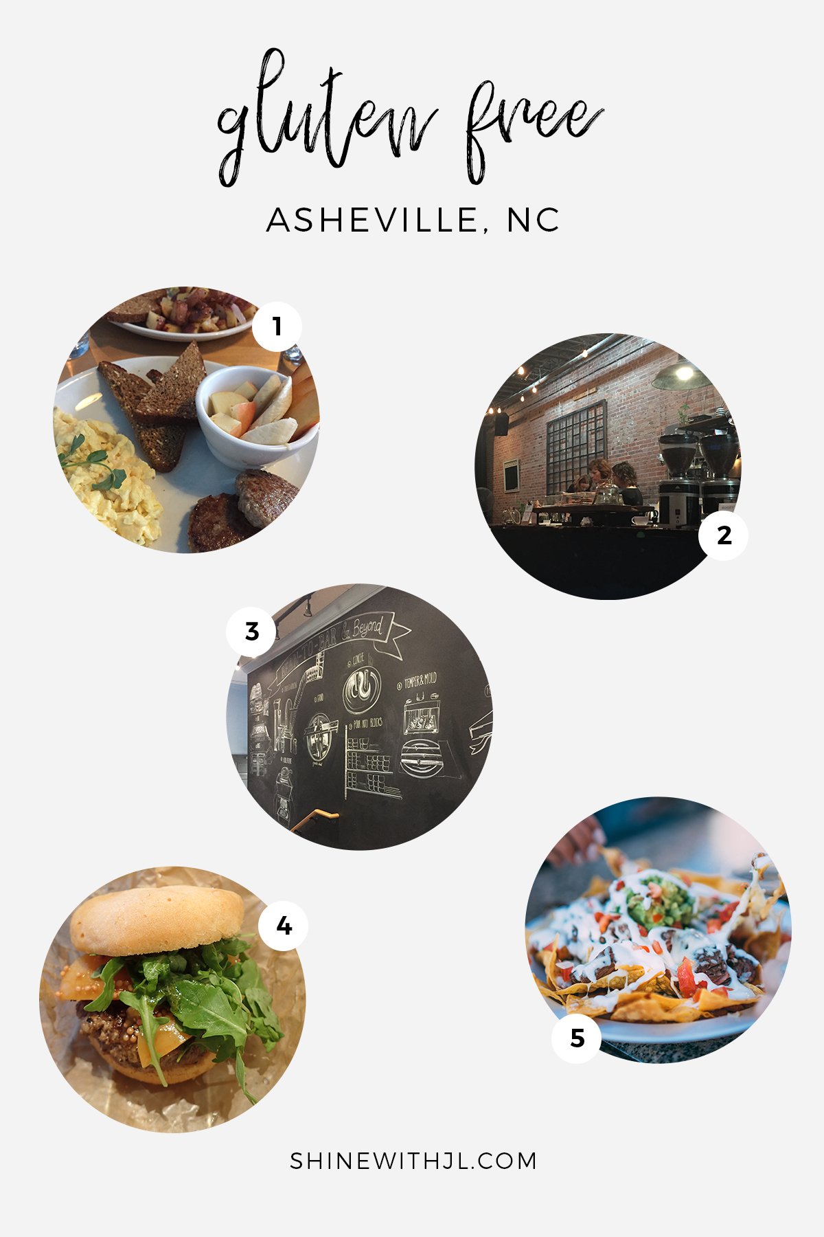 5 places to eat gluten free in asheville nc