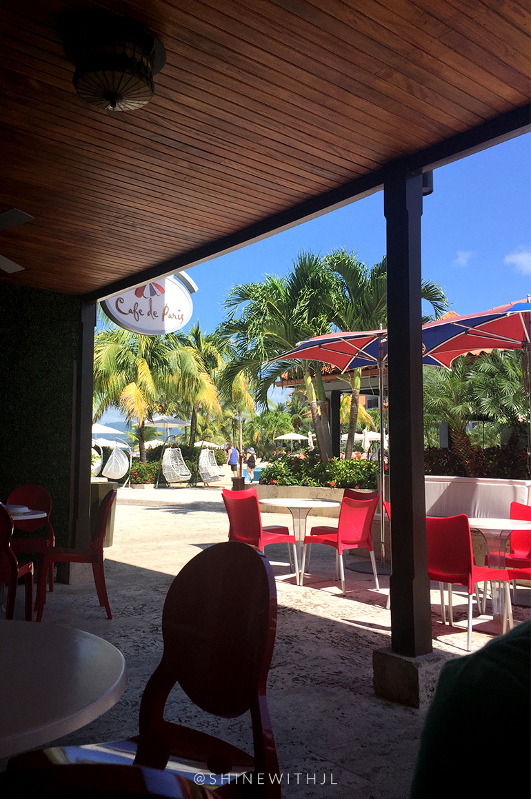 outdoor dining all inclusive resort sandals grenada