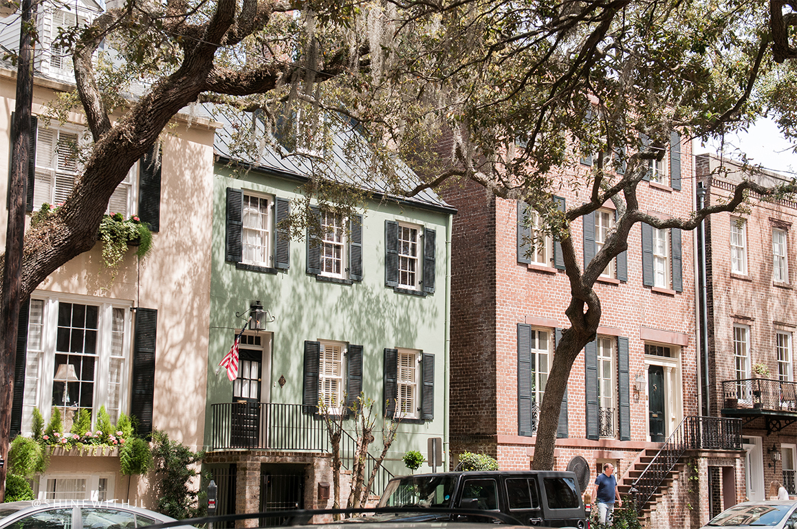 things to do savannah: historic district homes
