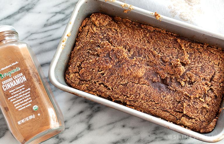 grain free cinnamon almond flour bread recipe shinewithjl