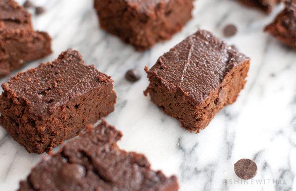 gluten free dairy free chocolate chip pumpkin brownie recipe
