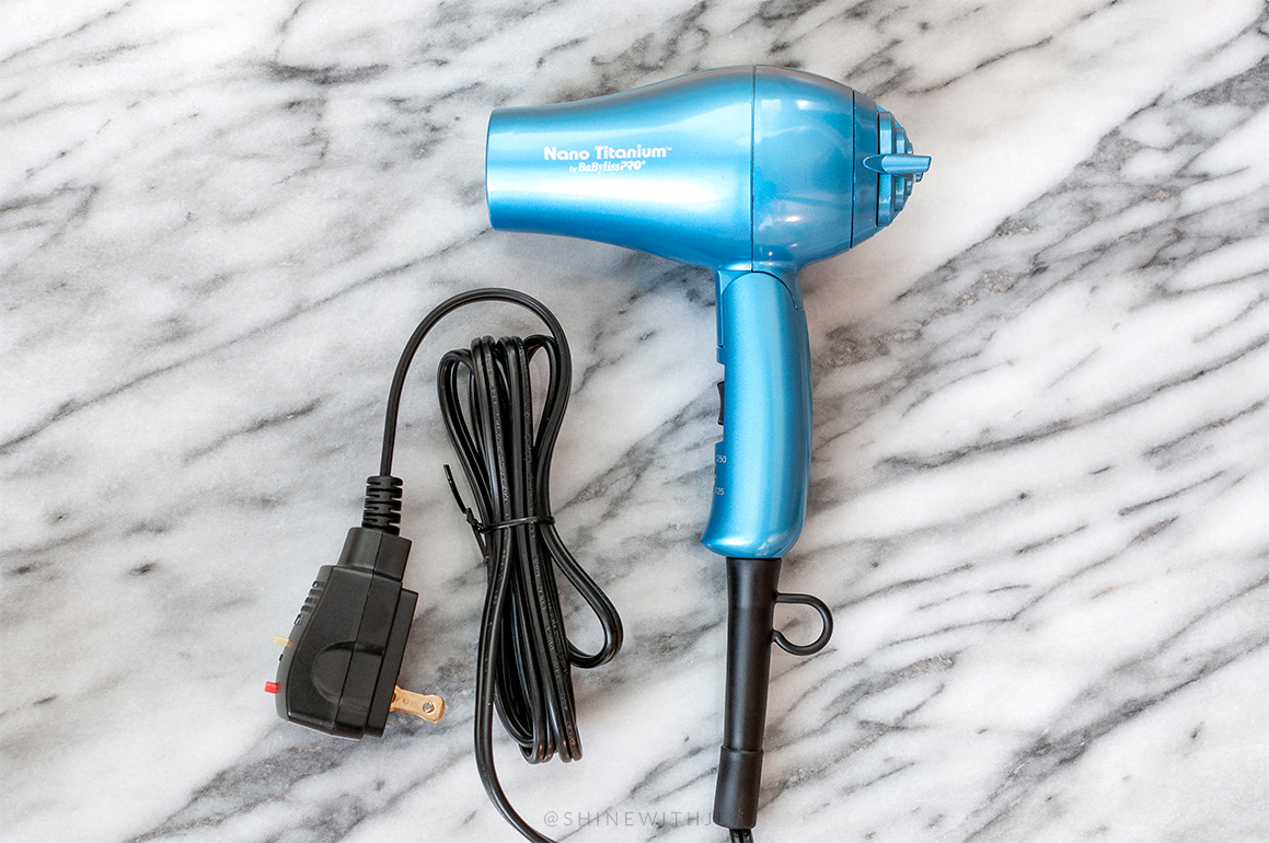 small travel hair dryer for curly hair