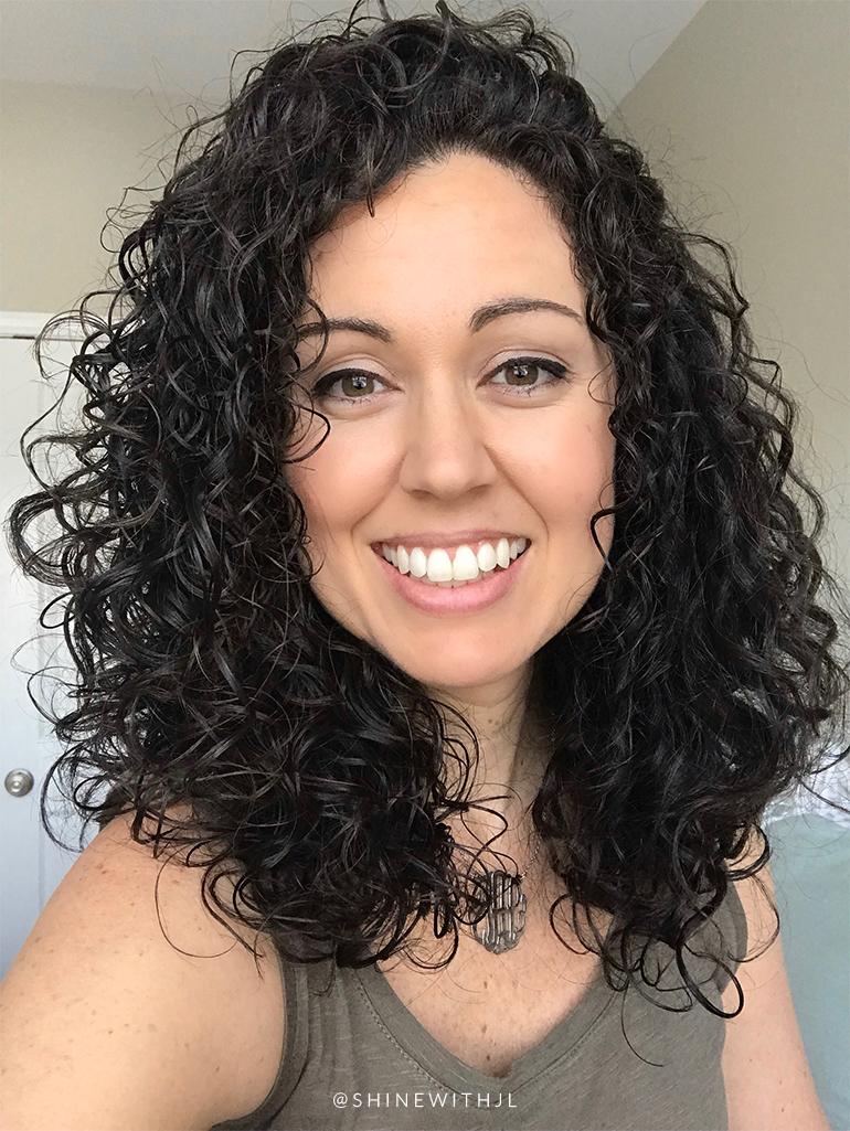 long curly hair devacurl cut