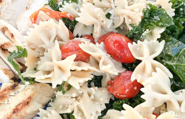 gluten free kale Caesar salad recipe