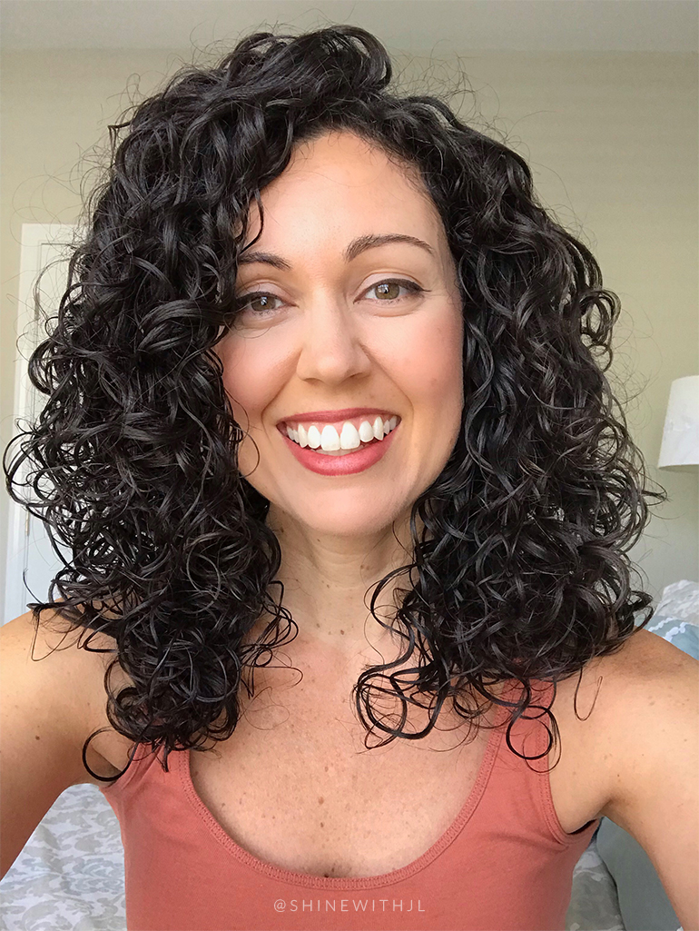 curly hairstyle 2c 3a curls