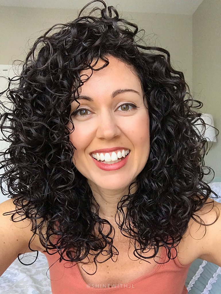 cleansing and conditioning after pool swimming curls