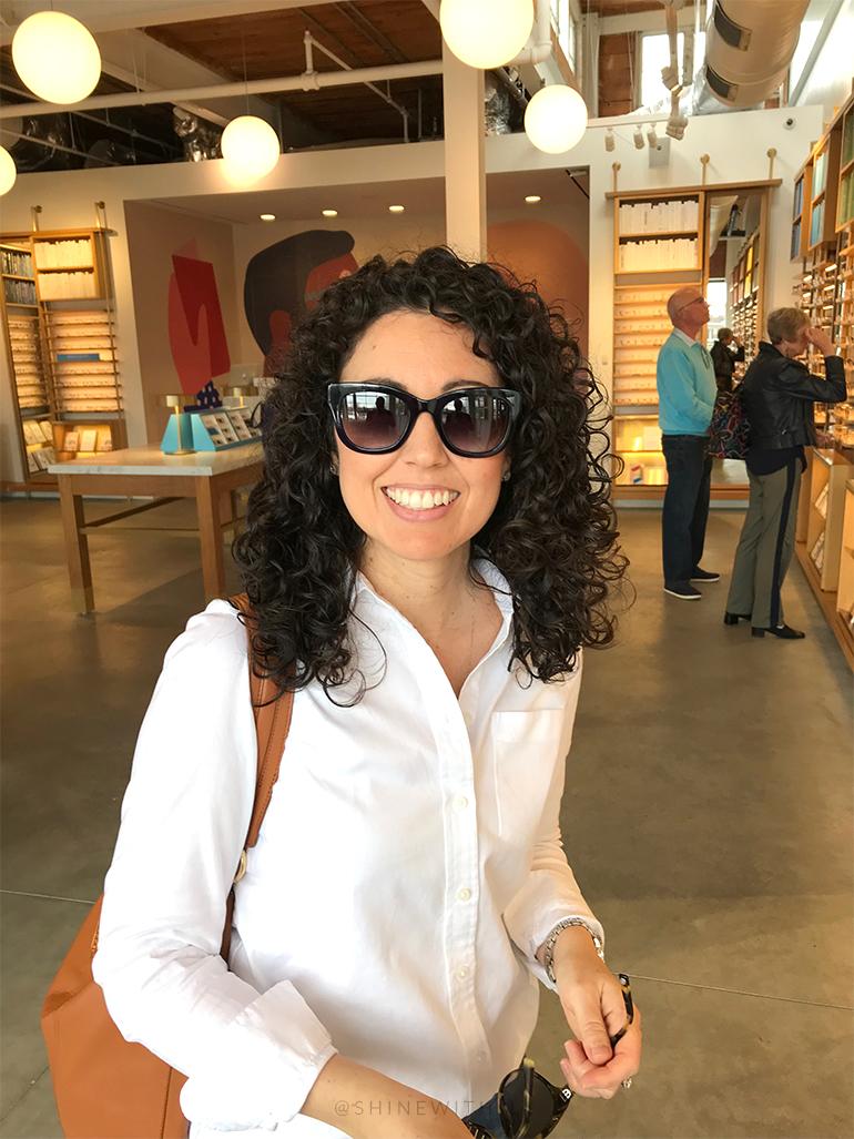 blue warby parker sunglasses Gemma