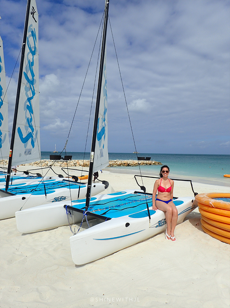 hobie cats sandals resorts antigua