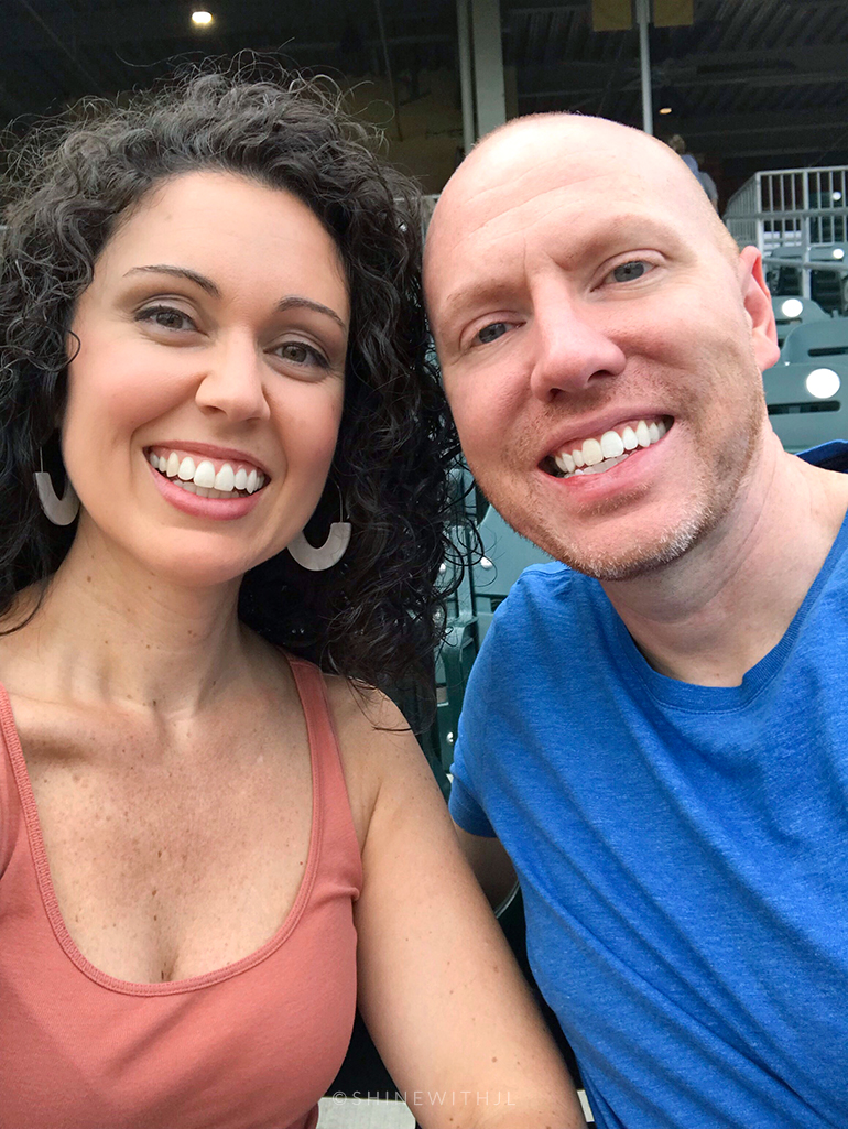 date night at charlotte knights baseball game