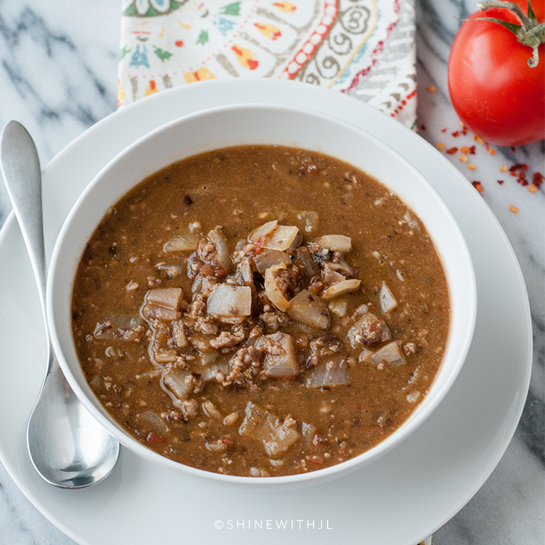 ground turkey pumpkin chili autumn soup recipe