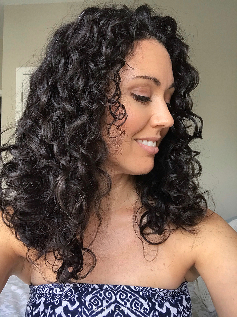 day 3 curly hair results devacurl conditioner review shinewithjl