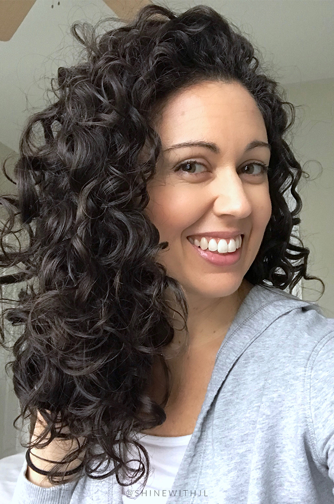day 3 curls refresh day results using devacurl one condition