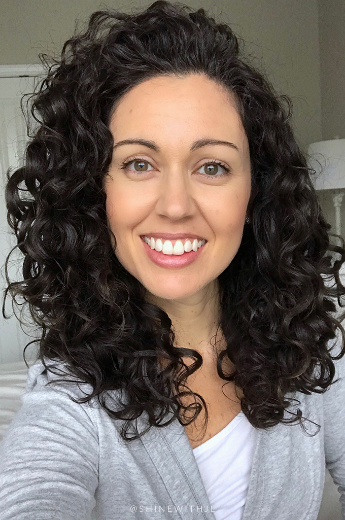 day 3 refresh day using devacurl one condition