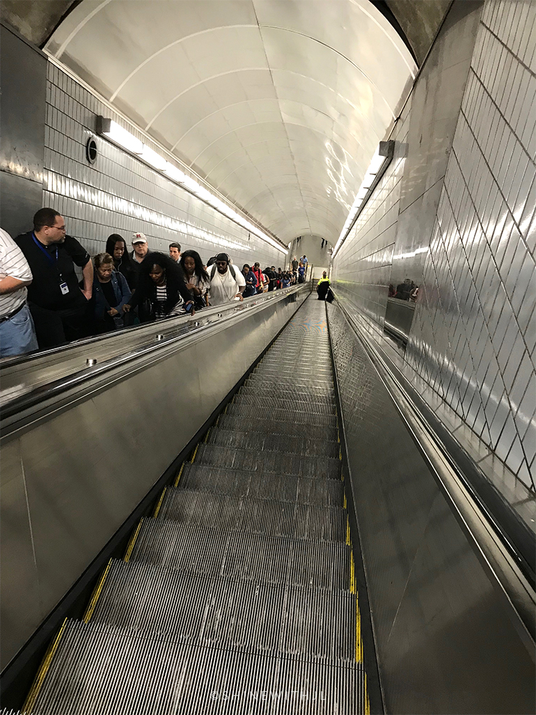 escalator MARTA atlanta