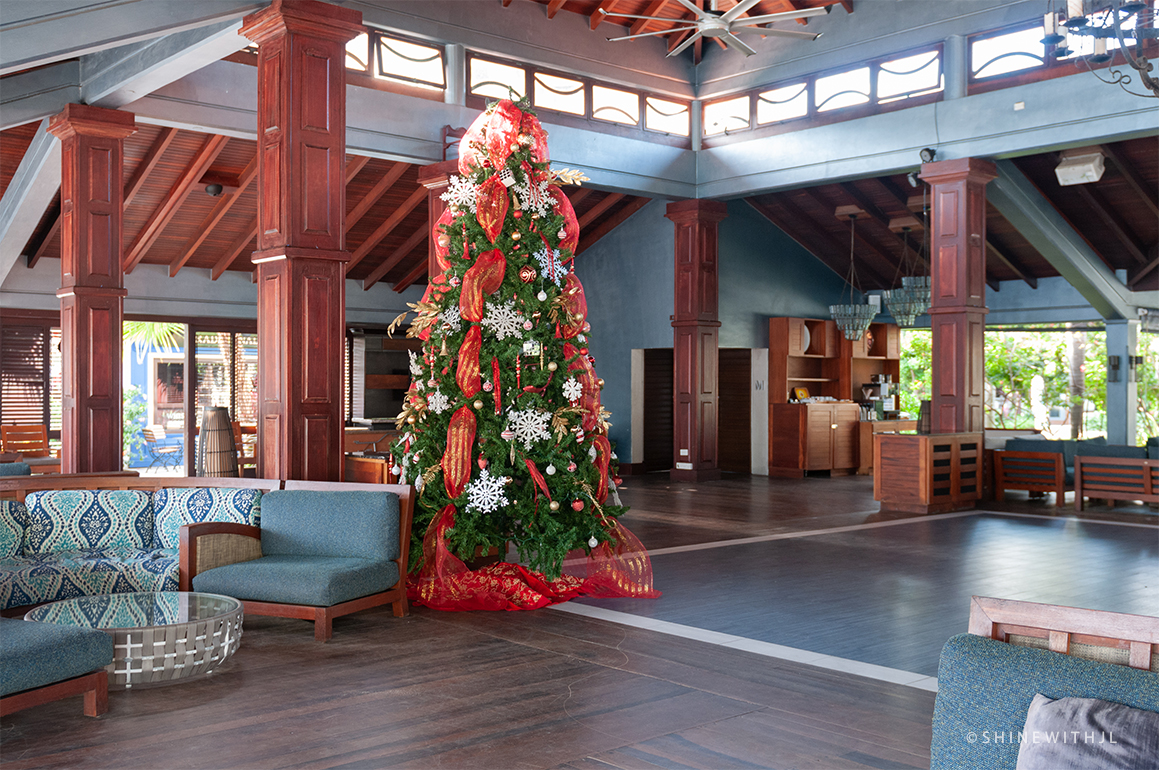 christmas season at sandals grenada resort