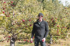 apple picking in new england