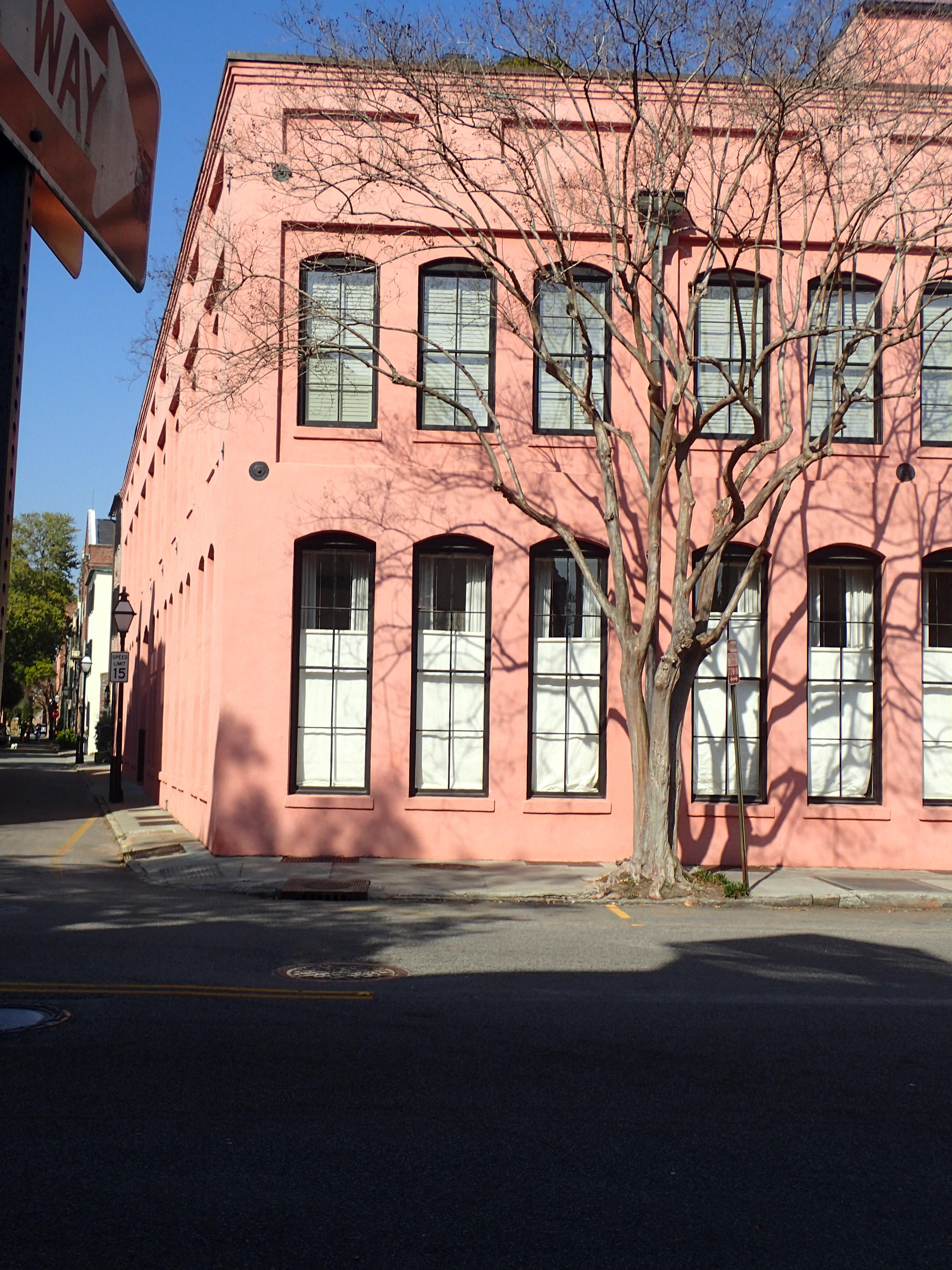 Rainbow Row Charleston SC E Bay Street
