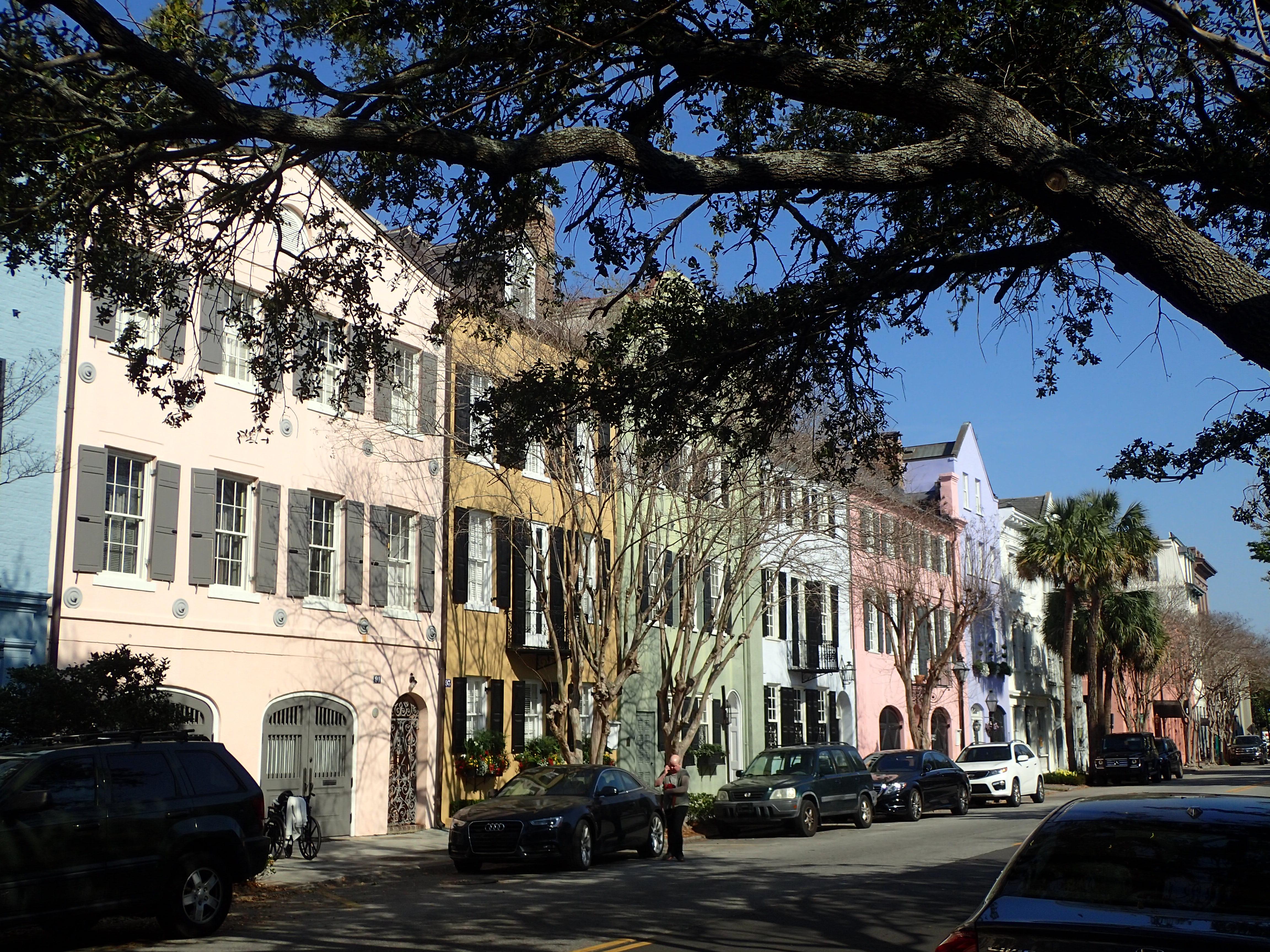 Rainbow Row E Bay St Charleston SC