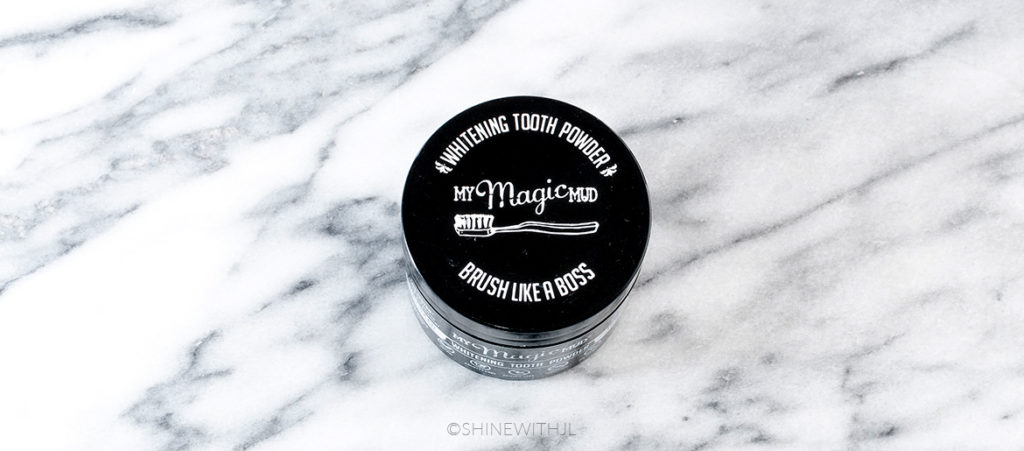 whitening tooth powder my magic mud natural toothpaste review