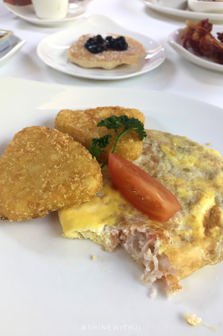 gluten free lobster omelette hash browns sandals resort grenada