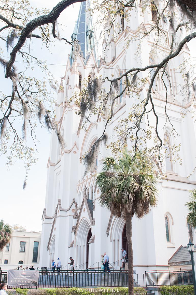 top things to do savannah: st john the baptist church