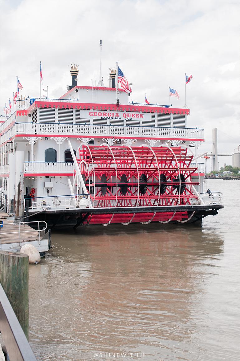 georgia queen riverboat tour savannah