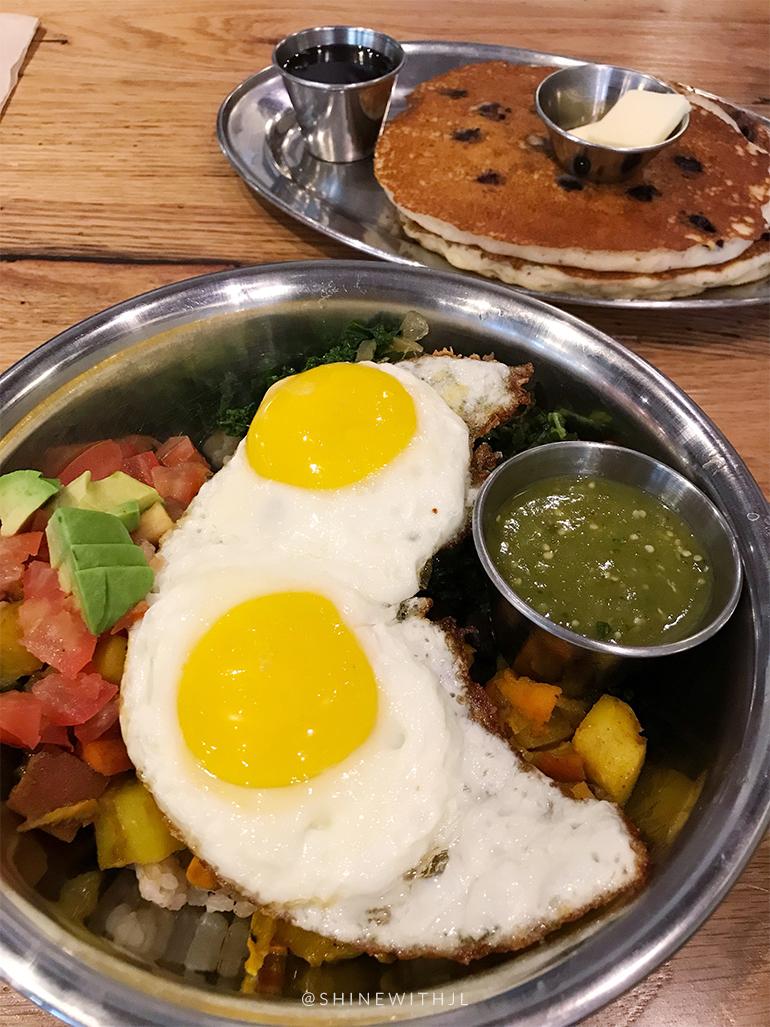 gluten free breakfast bowl green sage cafe asheville nc restaurant