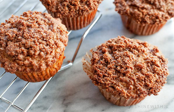 gluten free grain free cinnamon muffins shinewithjl