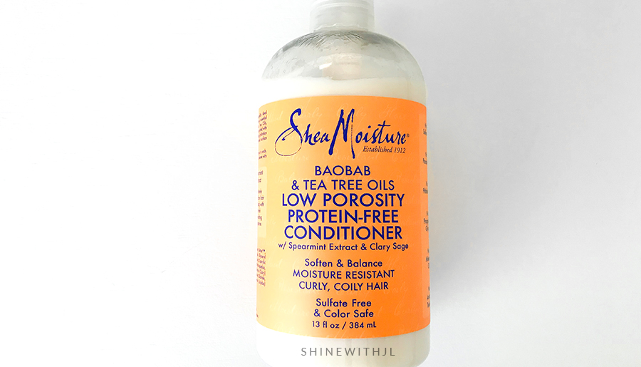 shea moisture low porosity conditioner no protein