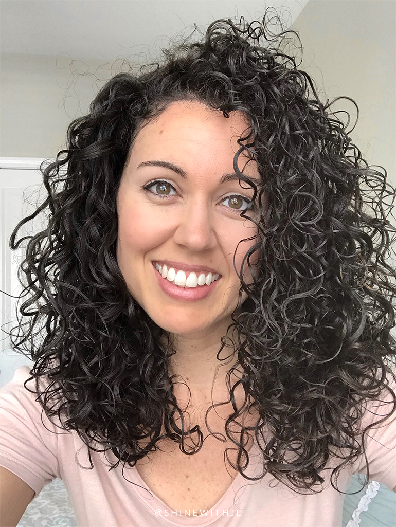 Another Devacurl Cut Before And After Shinewithjl