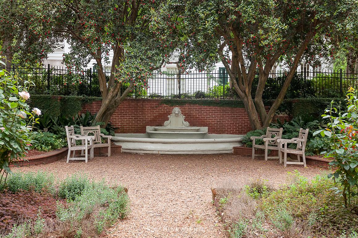 historic duke mansion gardens