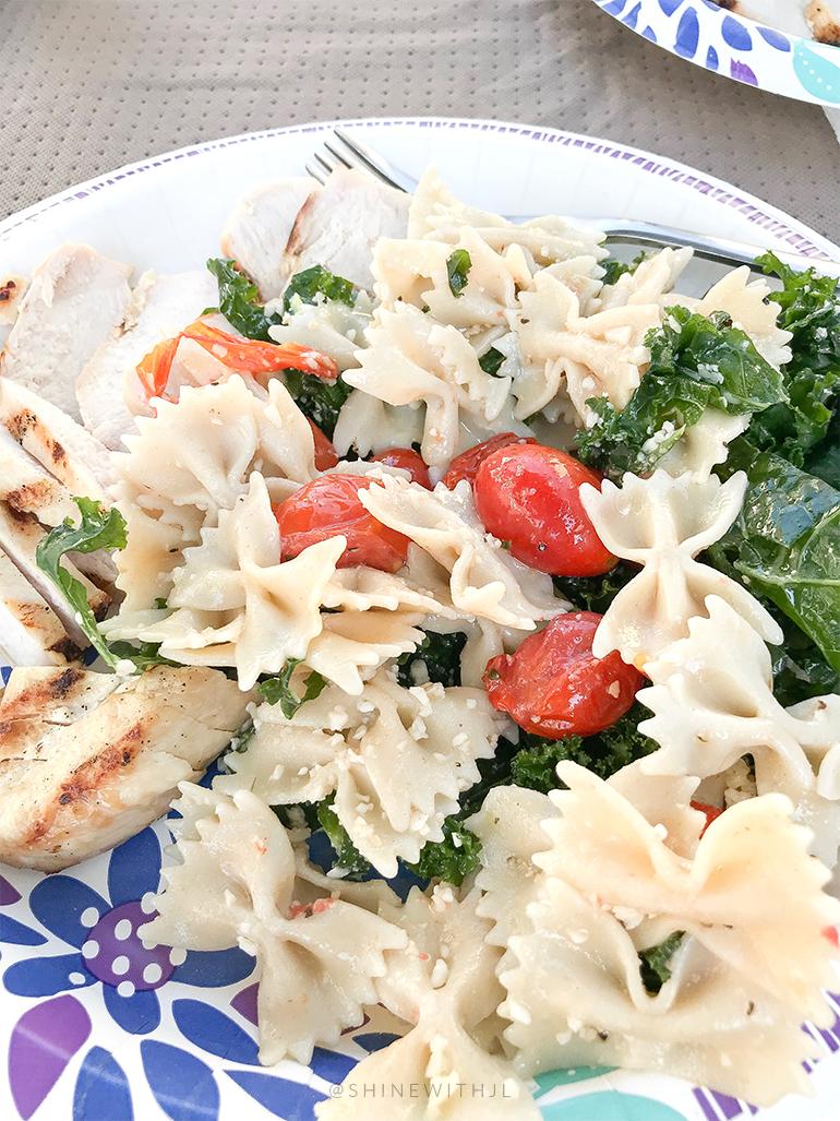 gluten free Caesar pasta salad recipe