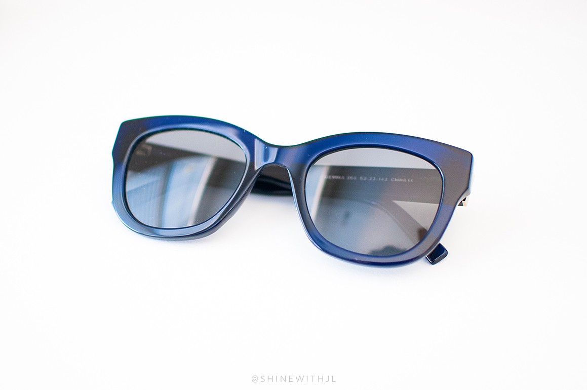 warby parker sunglasses navy blue