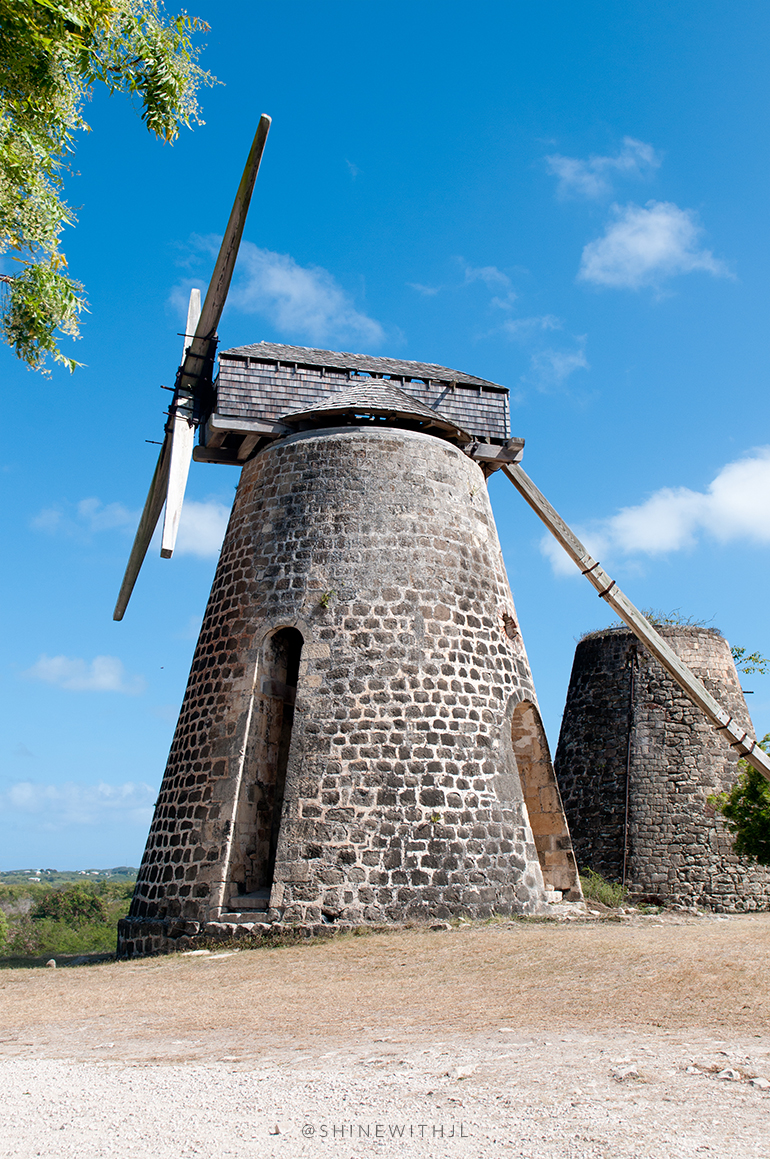 windmill at betty's hope plantation antigua