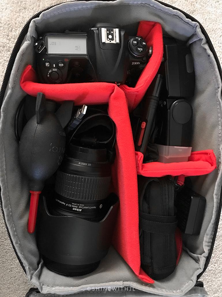 G-raphy Camera Insert Bag Camera Case for DSLR SLR Cameras