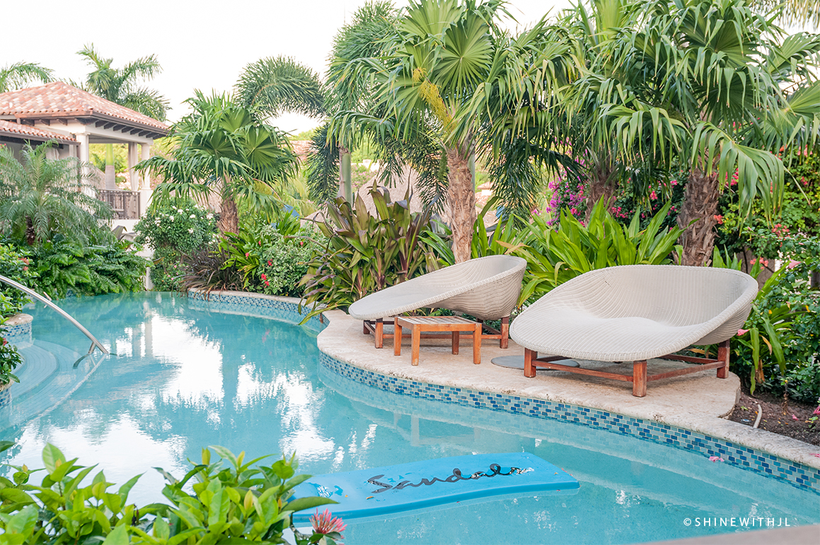 Sandals Grenada Waterfall River Walkout Pool with float