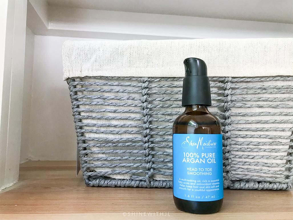 shea moisture 100% argan oil curl refresh