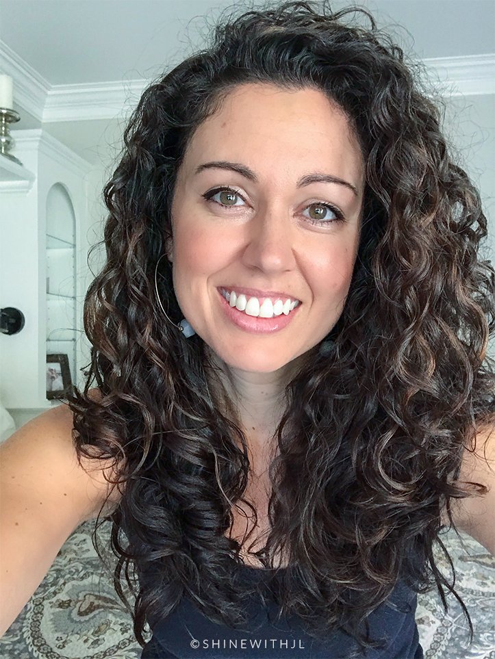 cute curly hairstyle day 2 curls refreshed