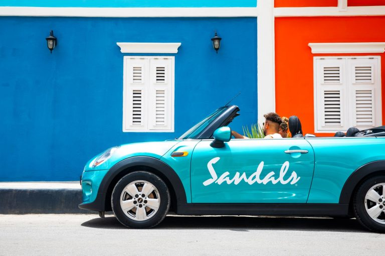 Sandals Curacao MINI Cooper