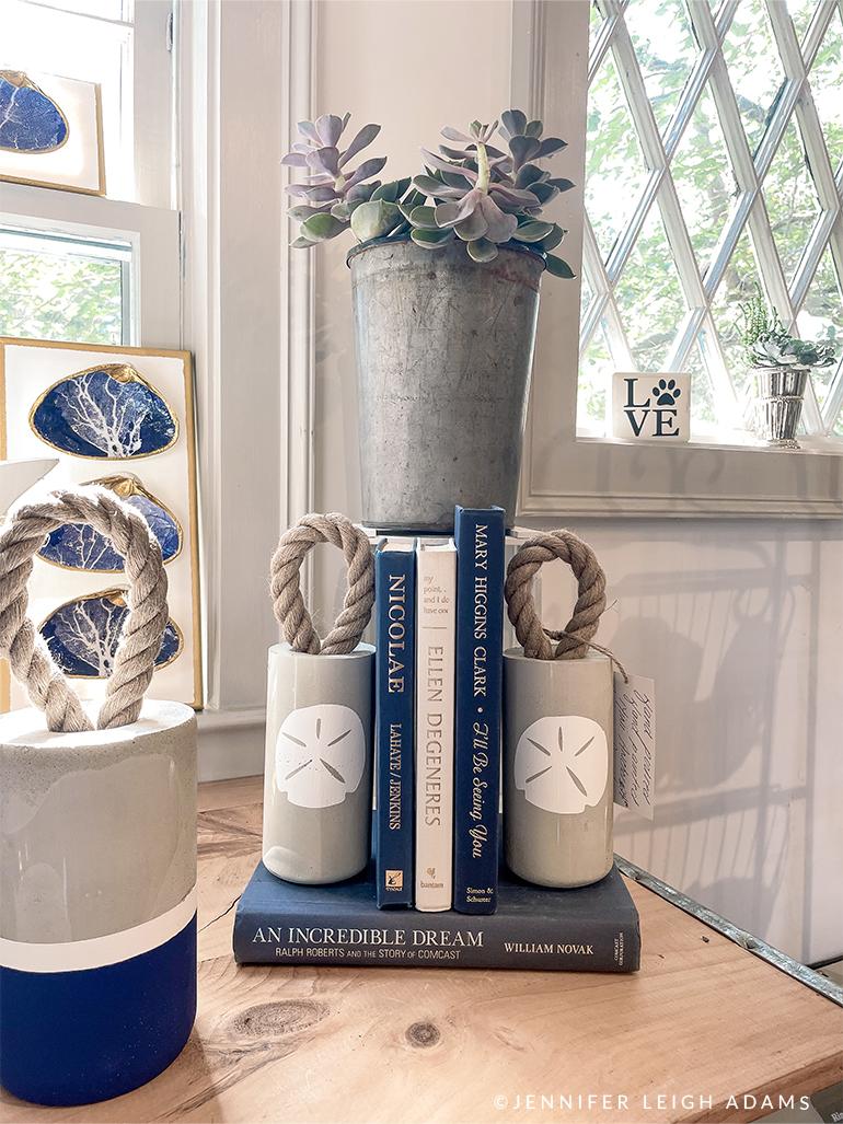 coastal book ends gift idea maine seacoast